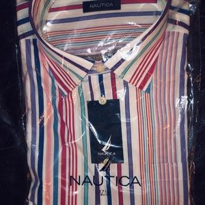 Nautical Dress Shirt 👔. Unopened package.